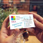 Односторонняя визитка 100 шт.